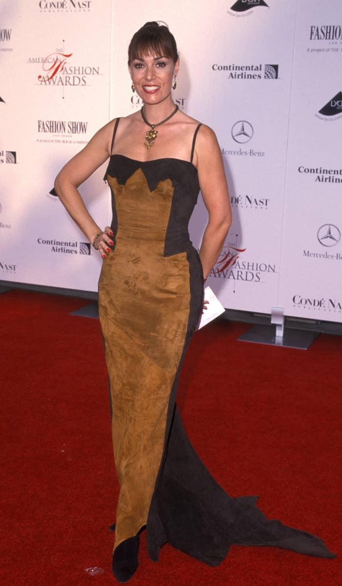 Brenda Cooper on red carpet