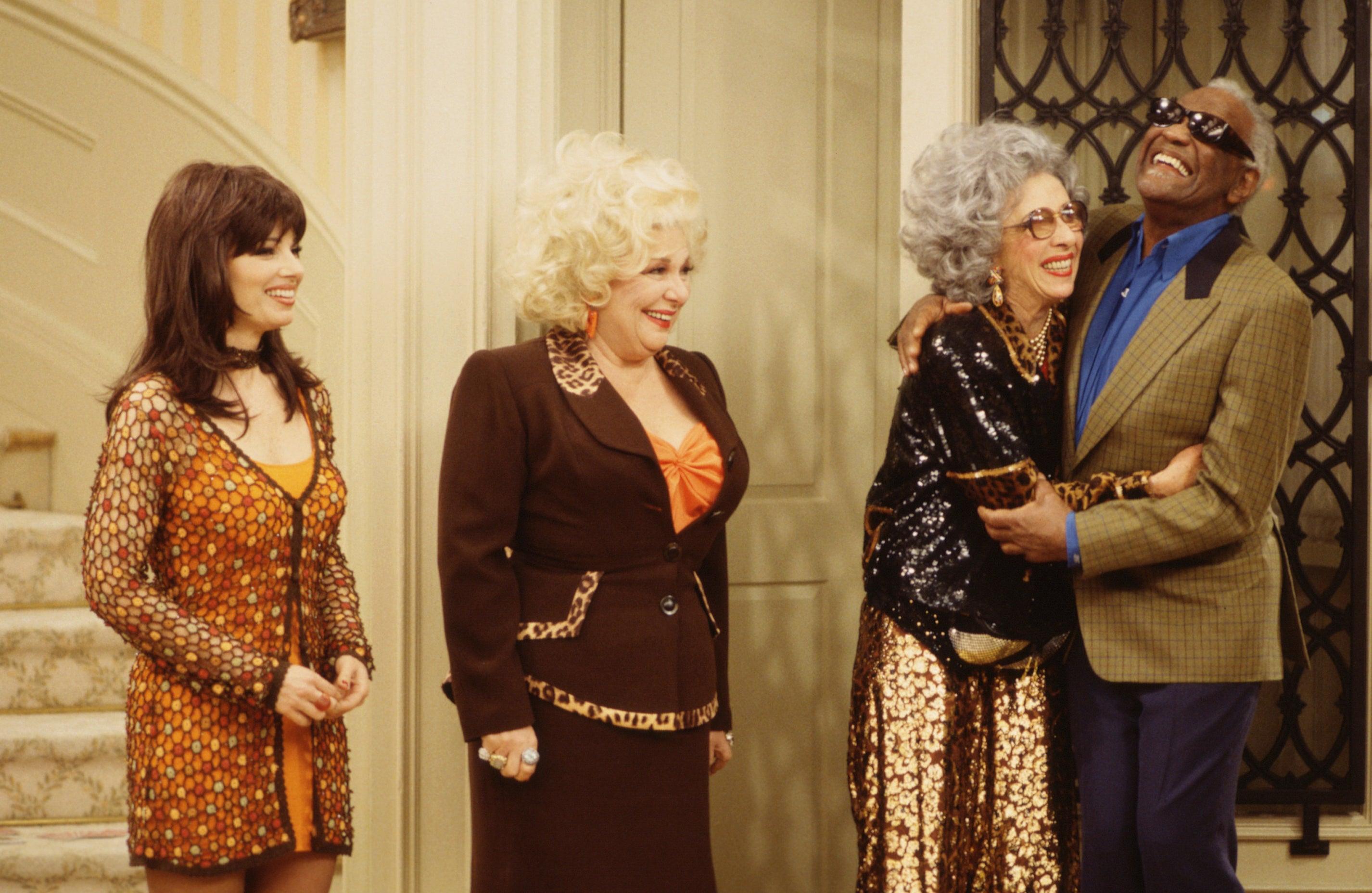 Fran, Ma, Yetta, and Sammy
