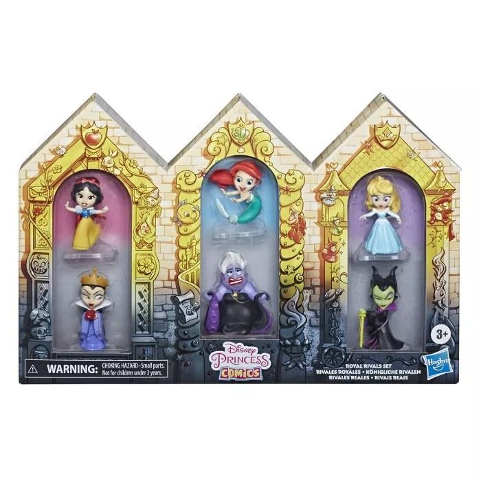 The Disney Princess Comics toys