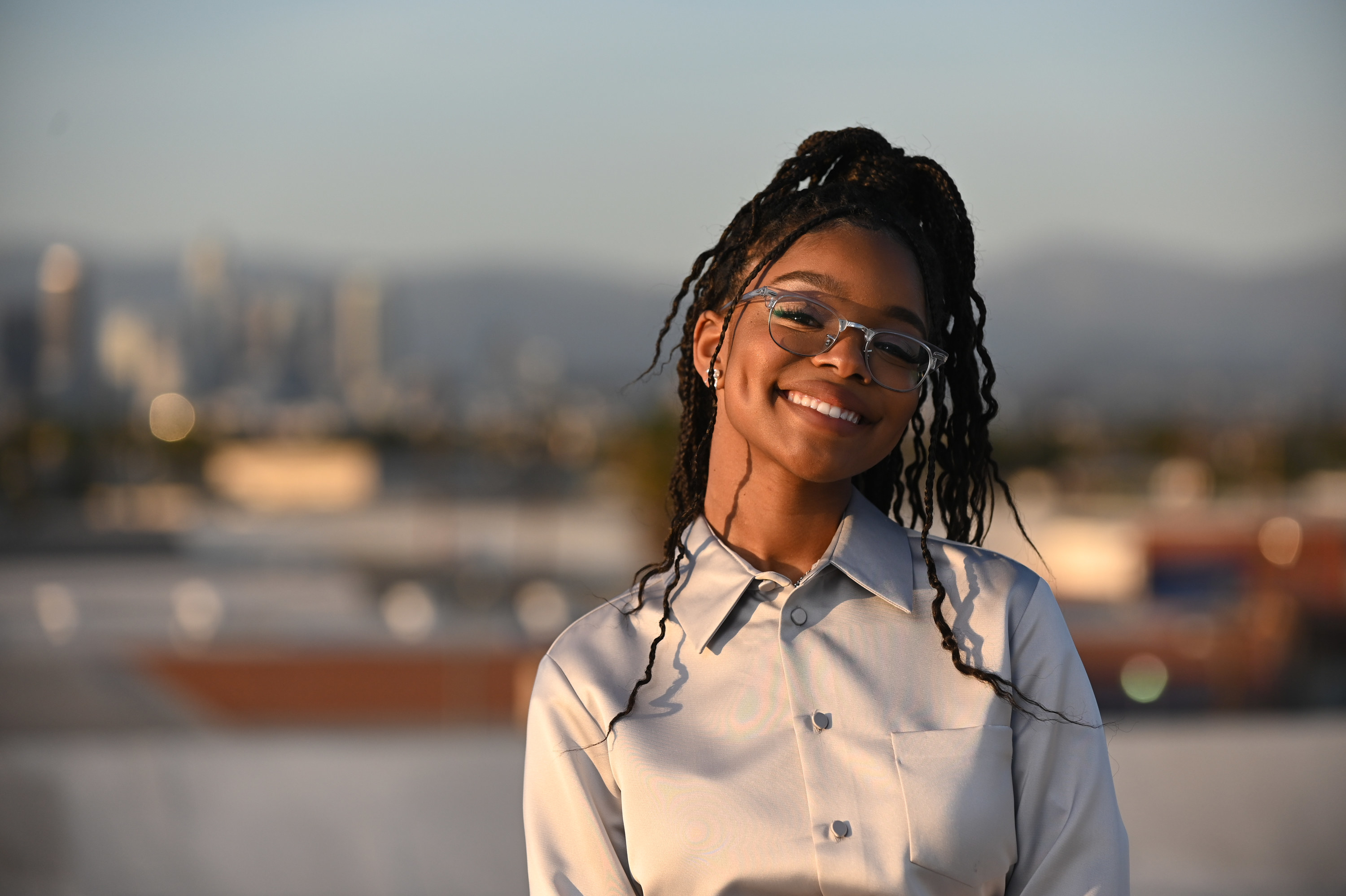 Marsai Martin guest hosts ABC News Soul of a Nation