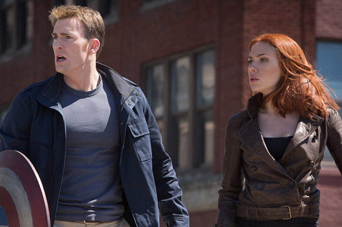 Best Captain America And Black Widow Friendship Moments