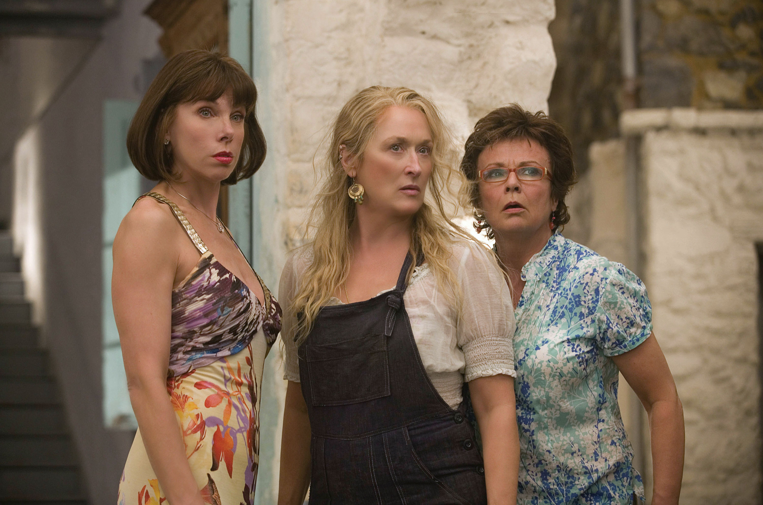 Donna and her two friends in Mamma Mia!
