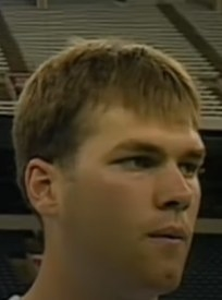 Young Tom Brady at NFL Combine.