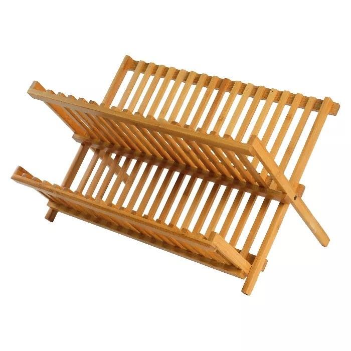 The bamboo drying rack
