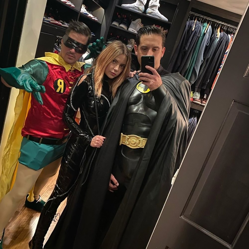 G-Eazy and Ashley dress up as Batman and Catwoman for Halloween