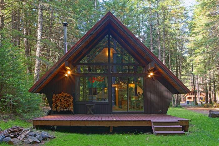 A-line cabin