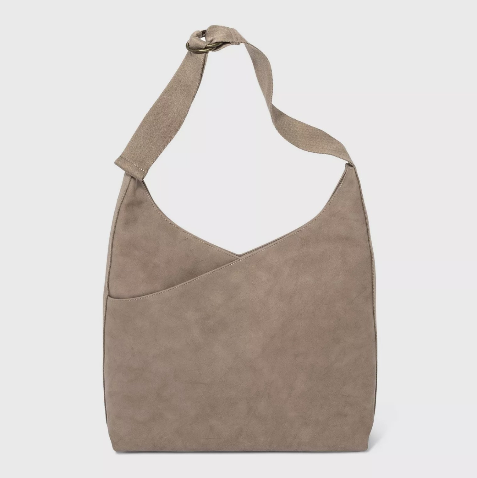 The bag in taupe