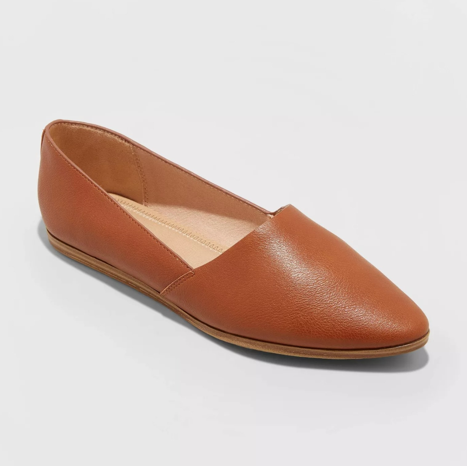 The loafers in cognac