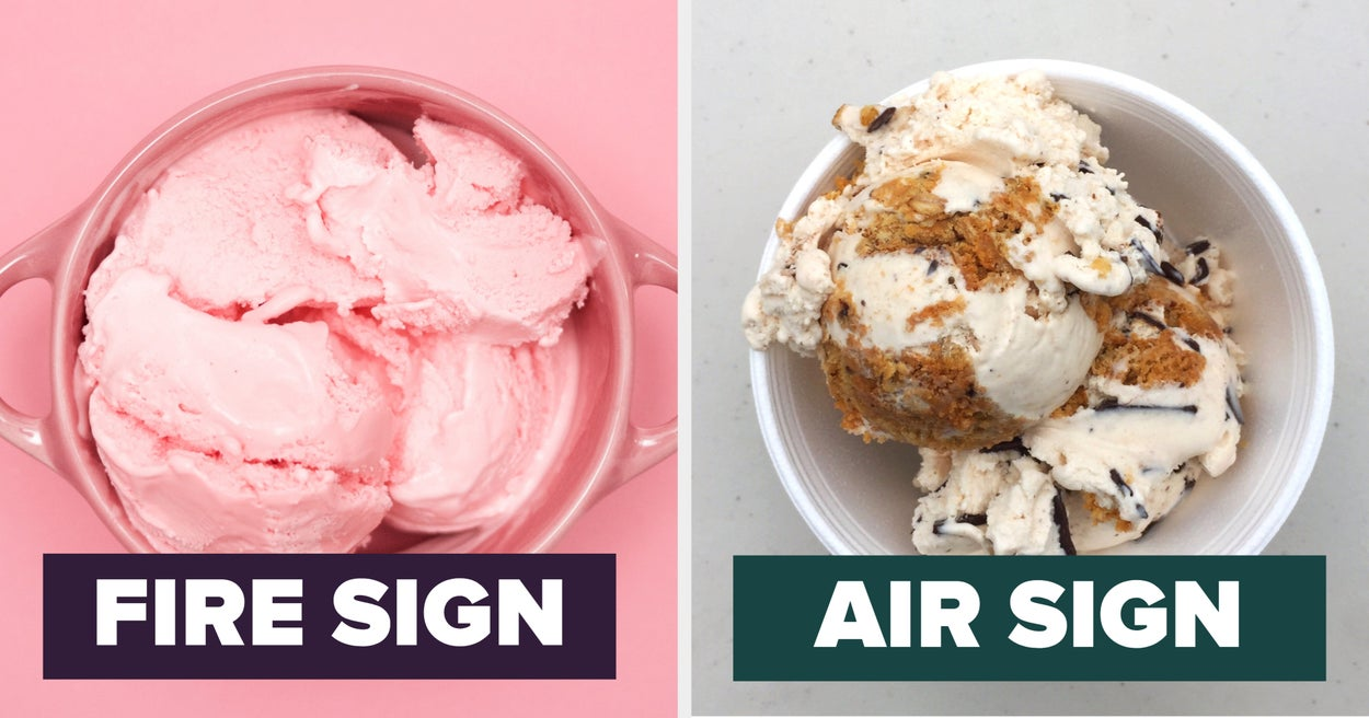 We Can Guess Your Zodiac Sign 9 Times Out Of 10 Just Based On Your Ice Cream Preferences - buzzfeed