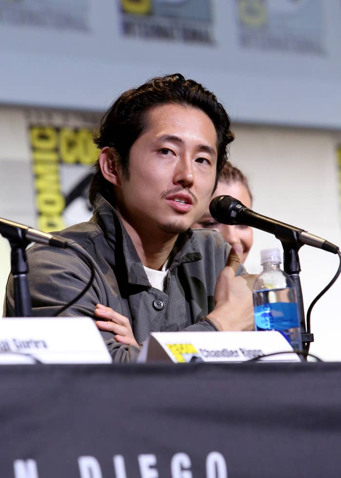 Steven Yeun at Comic-Con in 2016