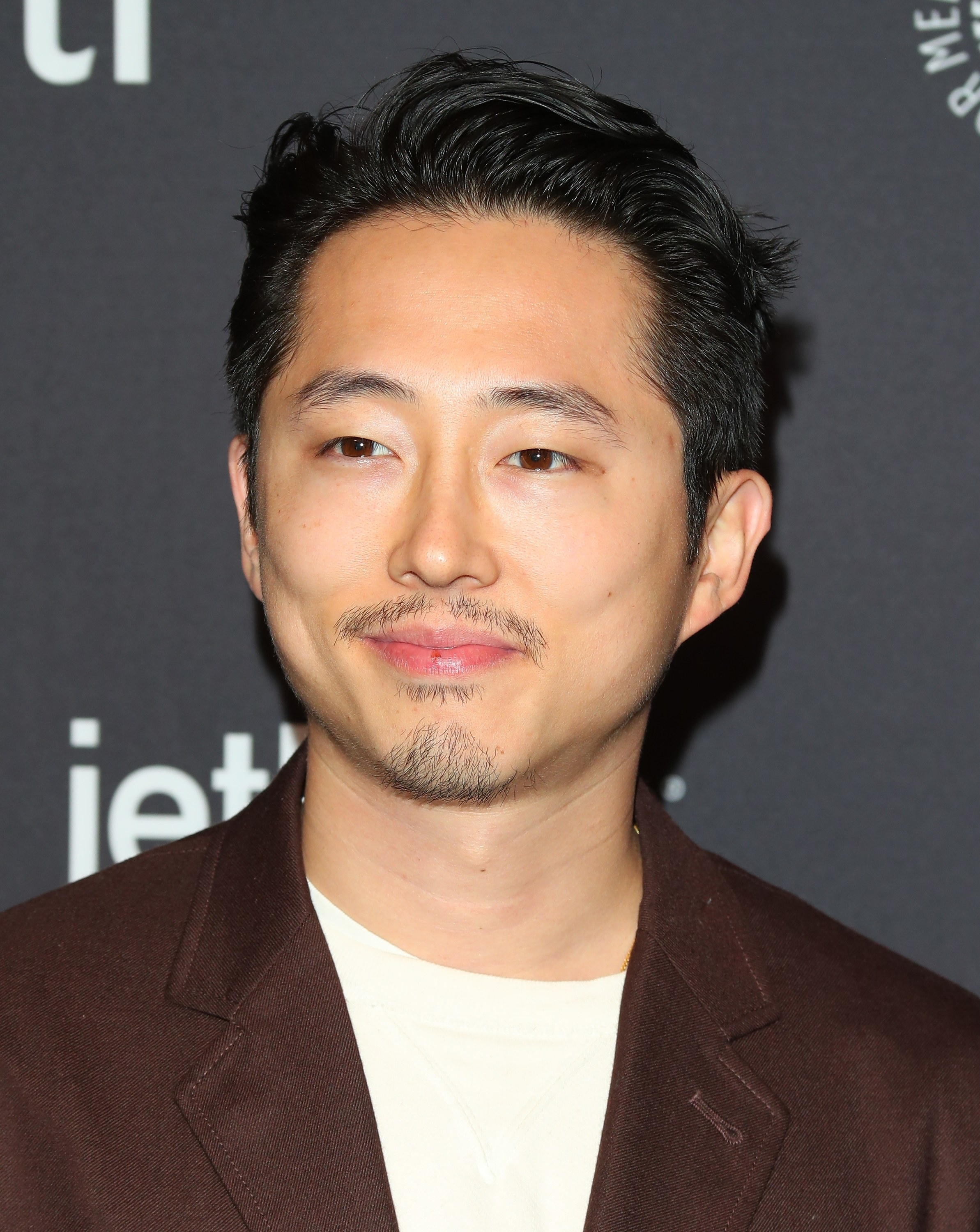 Steven Yeun on the Red Carpet