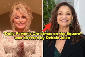 Dolly Parton's 2020 Christmas movie; Debbie Allen