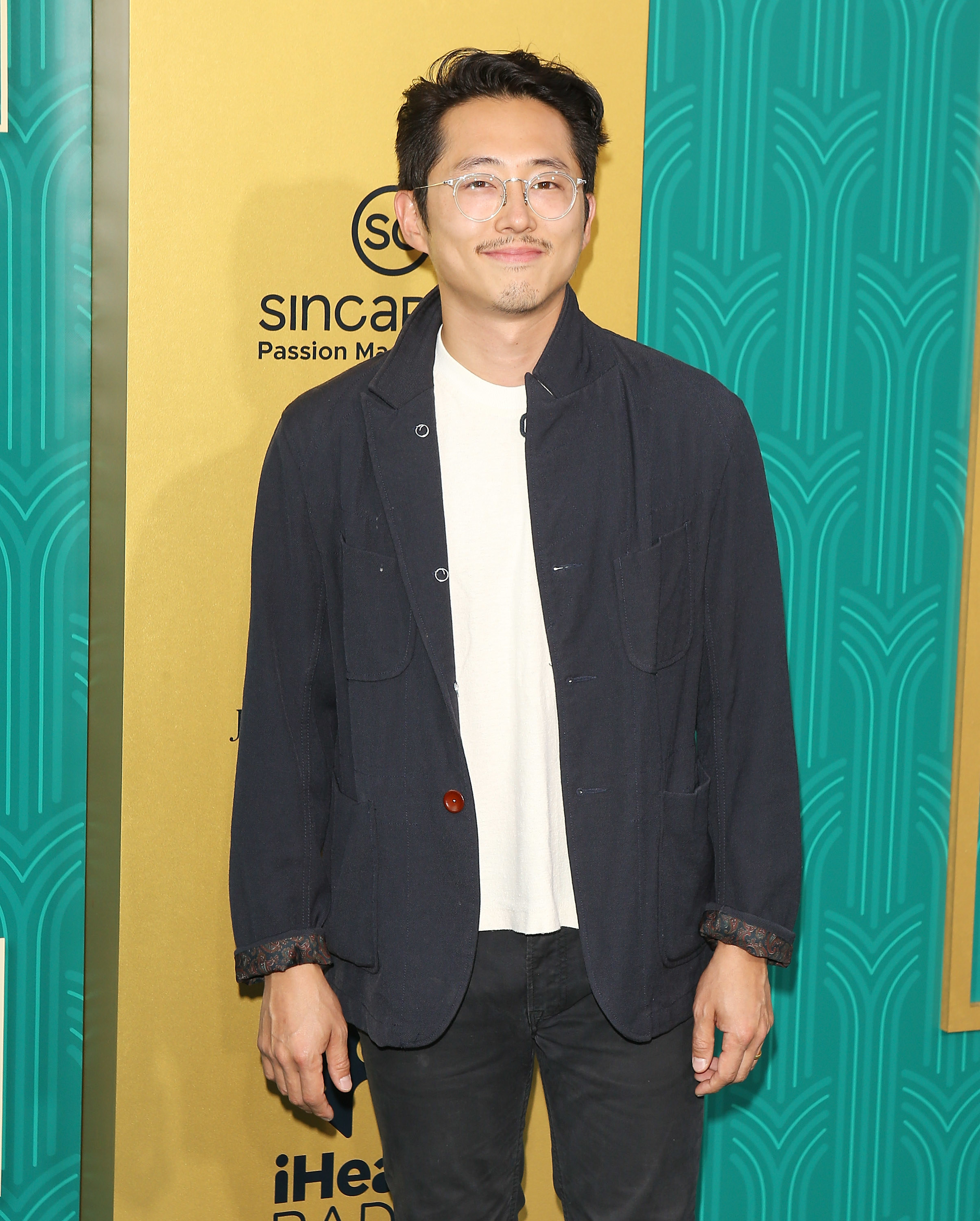 Steven Yeun at the premiere of Crazy Rich Asians