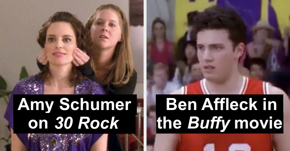 29 Ultra Famous Actors Who Appeared In Tiny Roles People Never Noticed Until Now