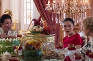 The fancy luncheon in