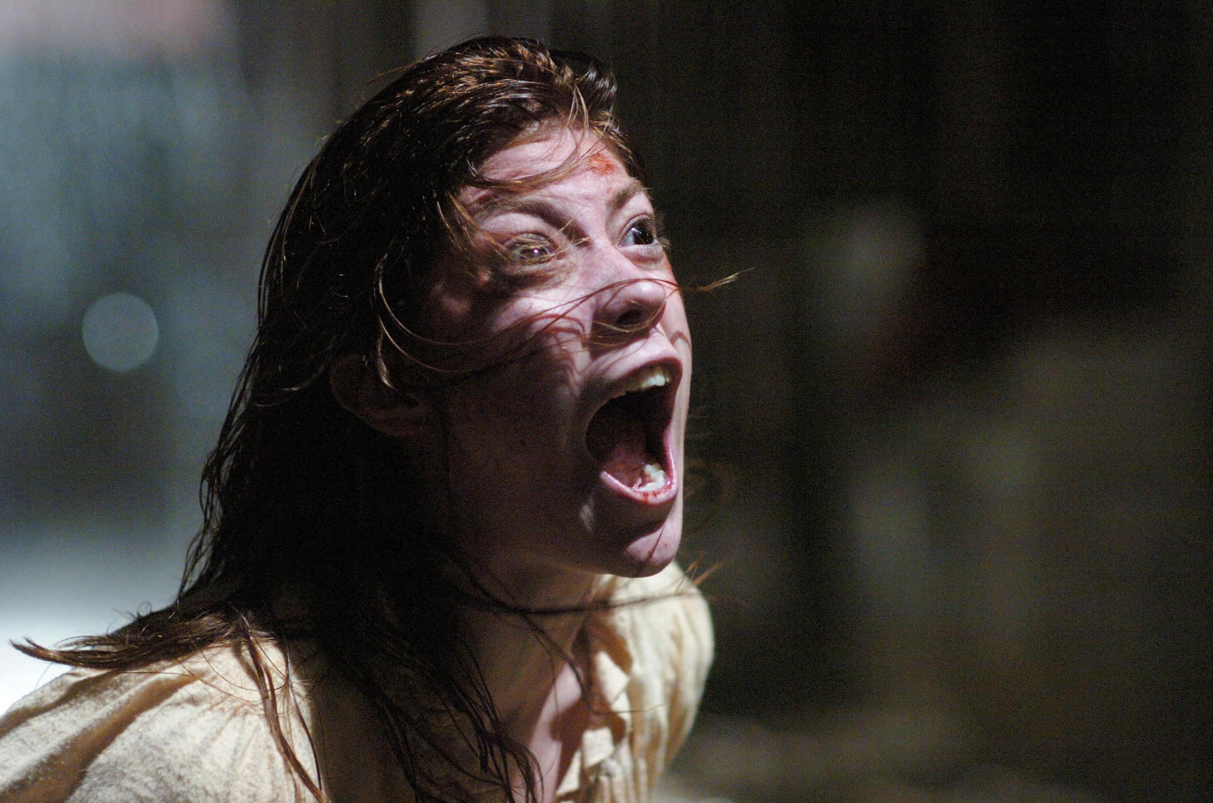 Emily Rose screaming in torture