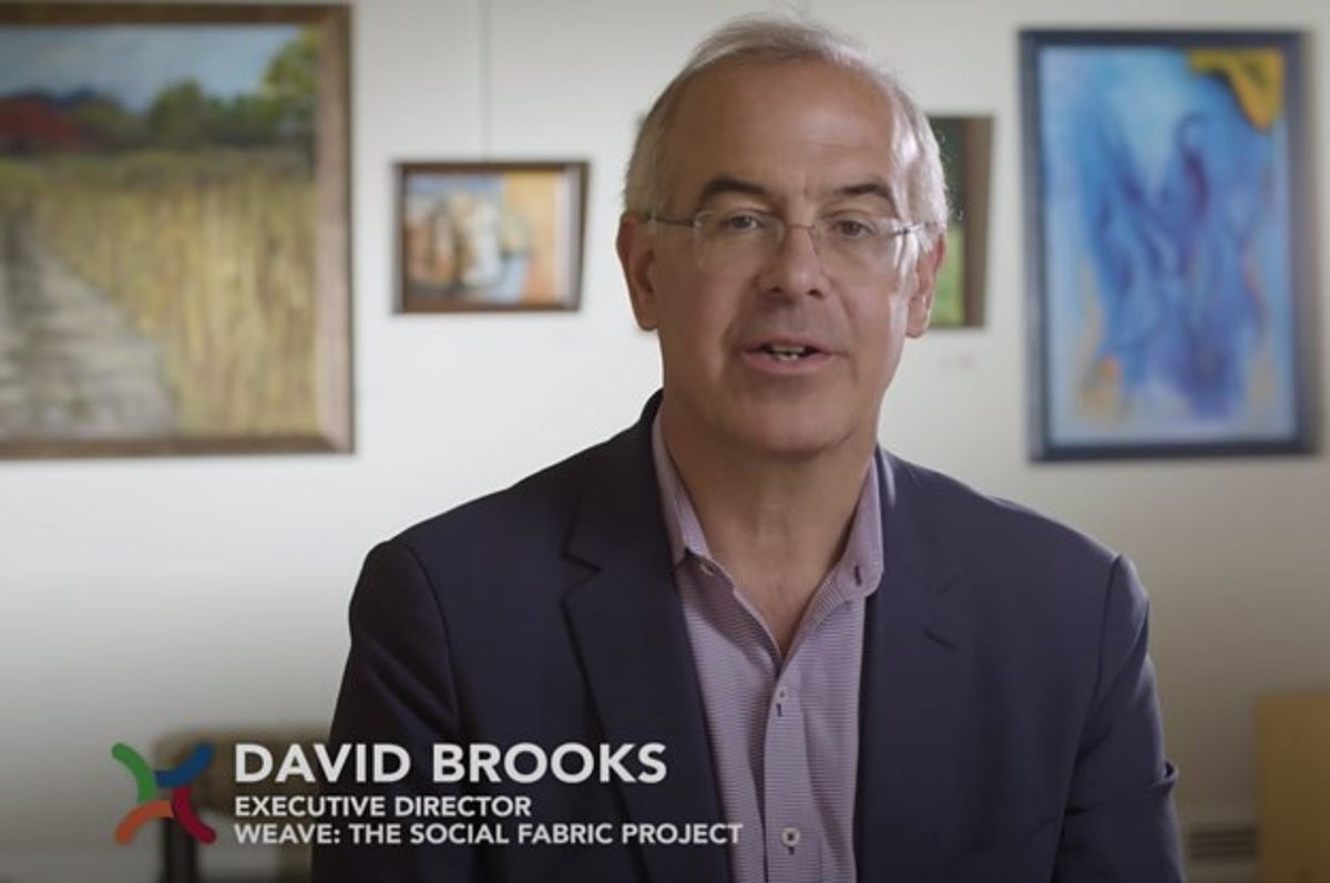 Nyt David Brooks S Project Funded By Facebook And Bezos S Dad