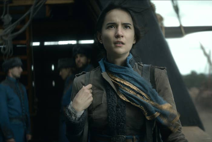 Jesse Mei Li as Alina Starkov in Shadow and Bone