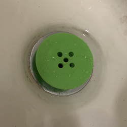 the tubshroom in the reviewer's drain