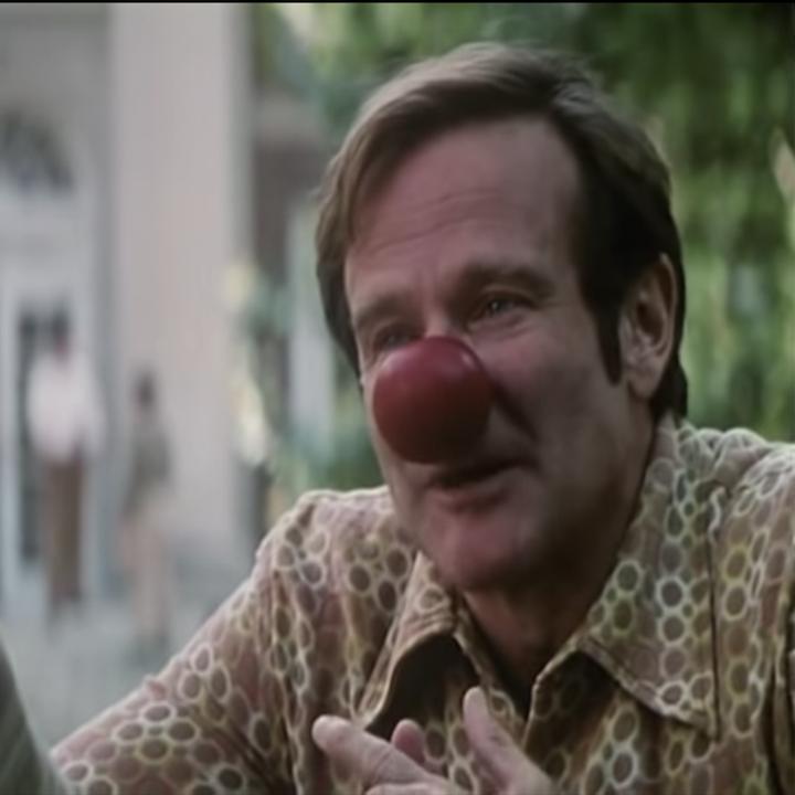 Robin Williams as Patch Adams