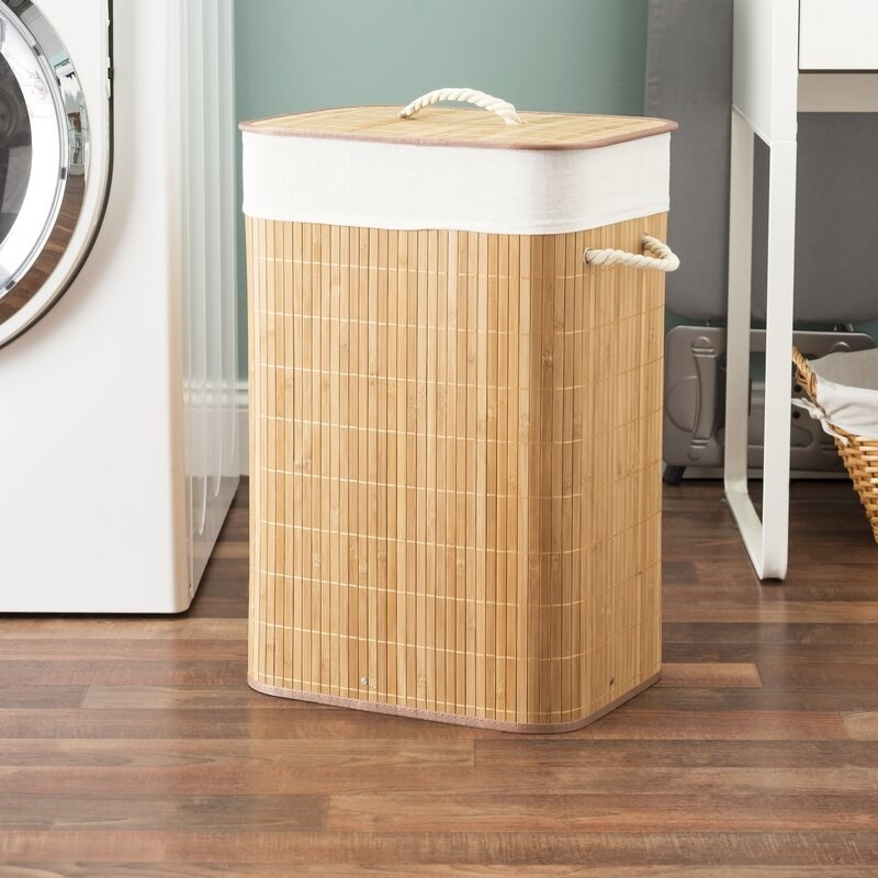 The laundry hamper