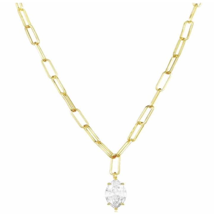the bradshaw necklace in gold
