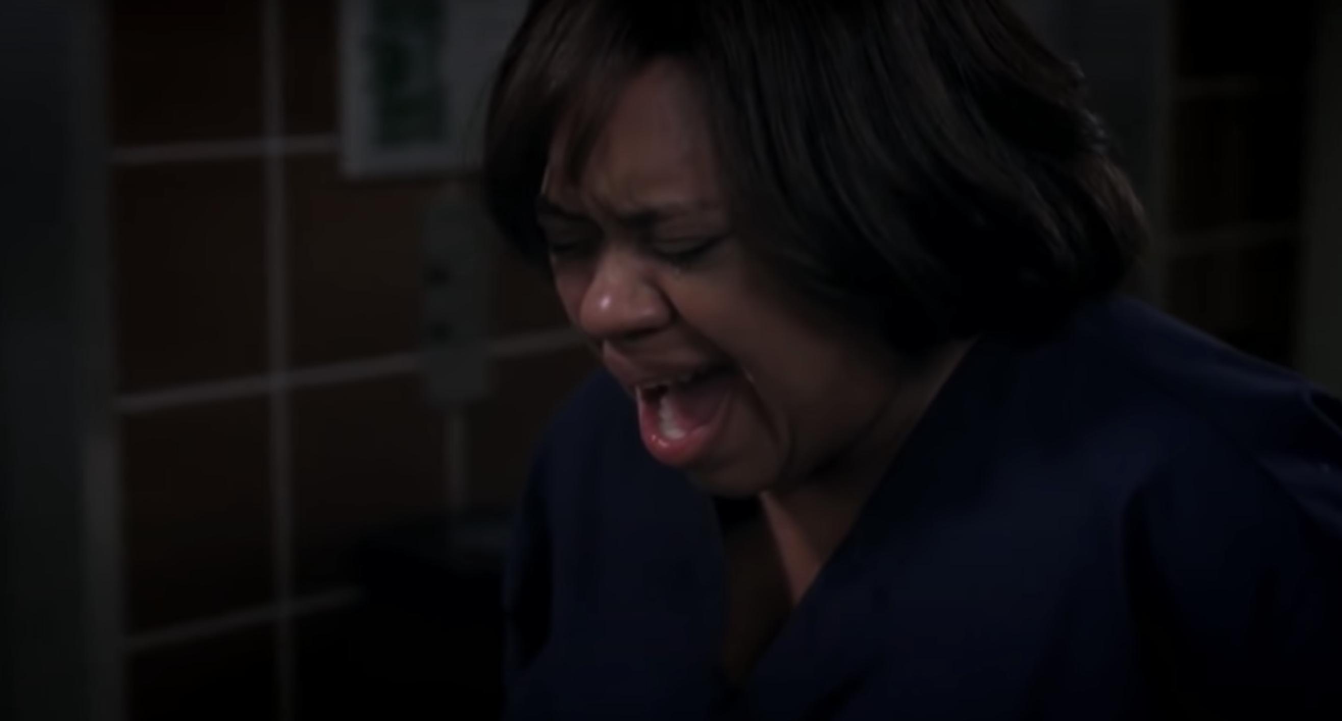 "Bailey crying in ""Grey's Anatomy"""
