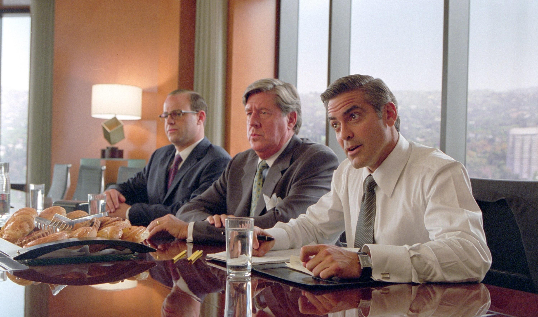 Paul Adelstein, Edward Herrmann, George Clooney