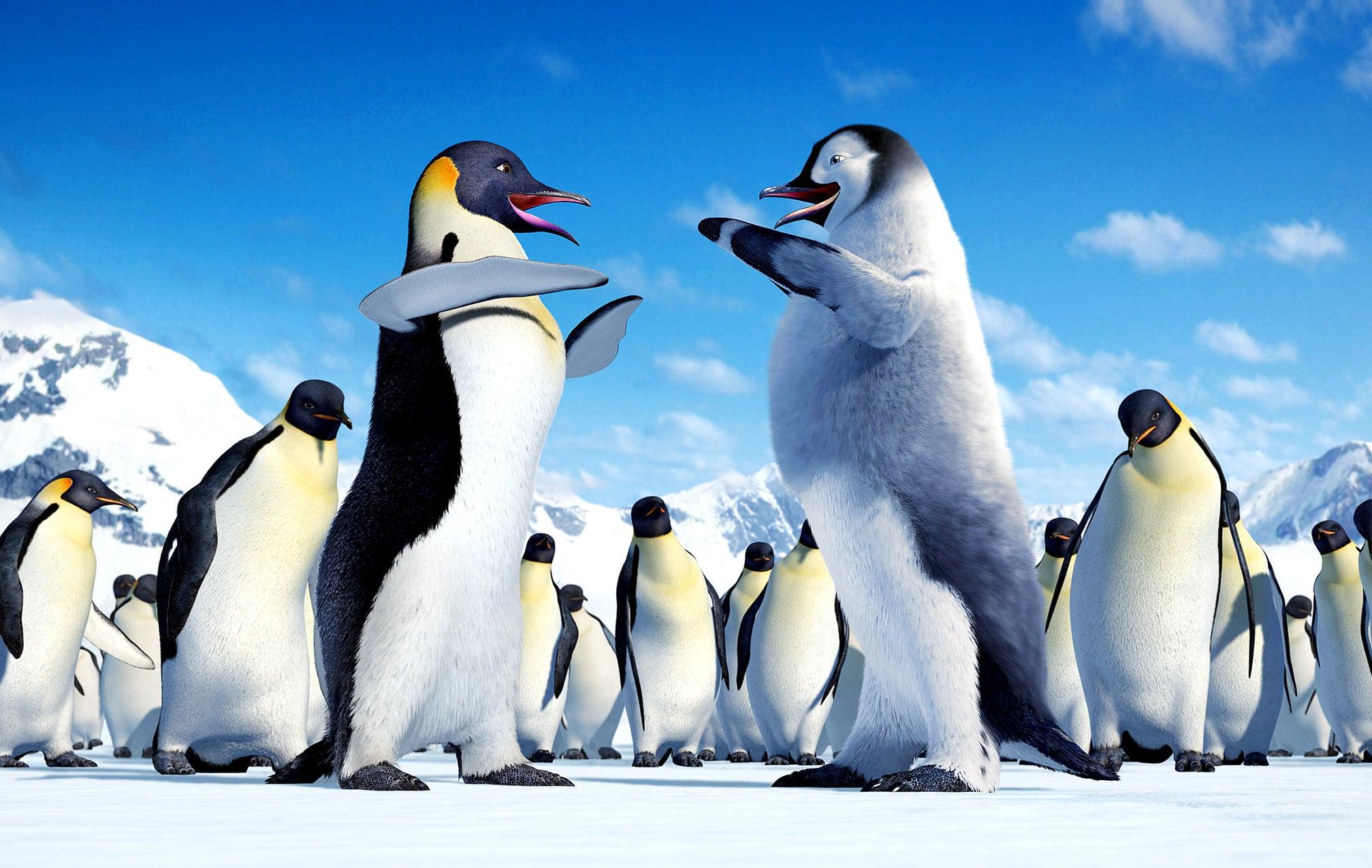 Dancing penguins