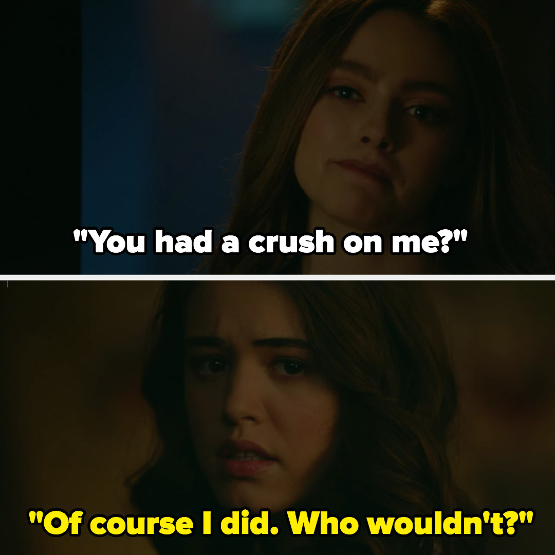 Hope finds out Josie had a crush on her