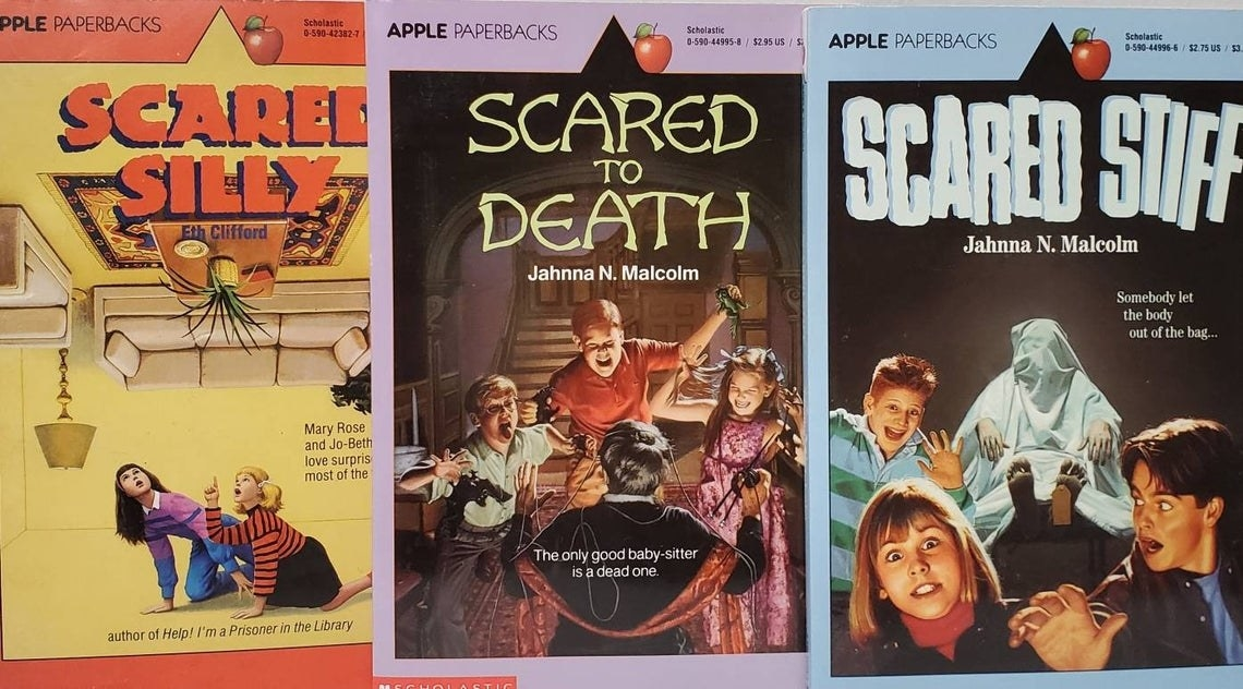 There different Apple Paperbacks book covers