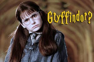 Moaning Myrtle floating in the bathroom