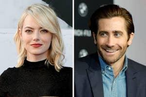 Emma Stone and Jake Gyllenhaal