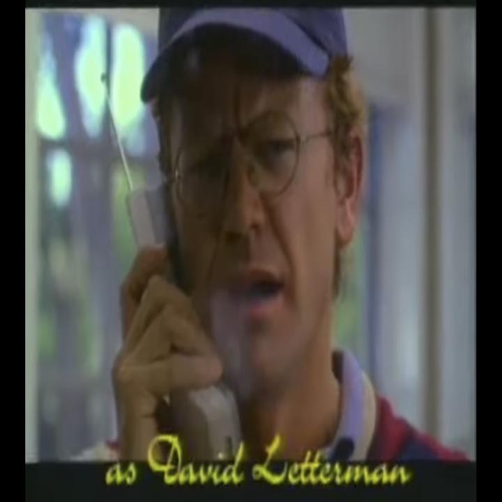 John Michael Higgins as David Letterman
