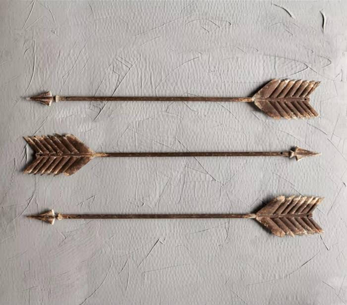 Three of the arrows