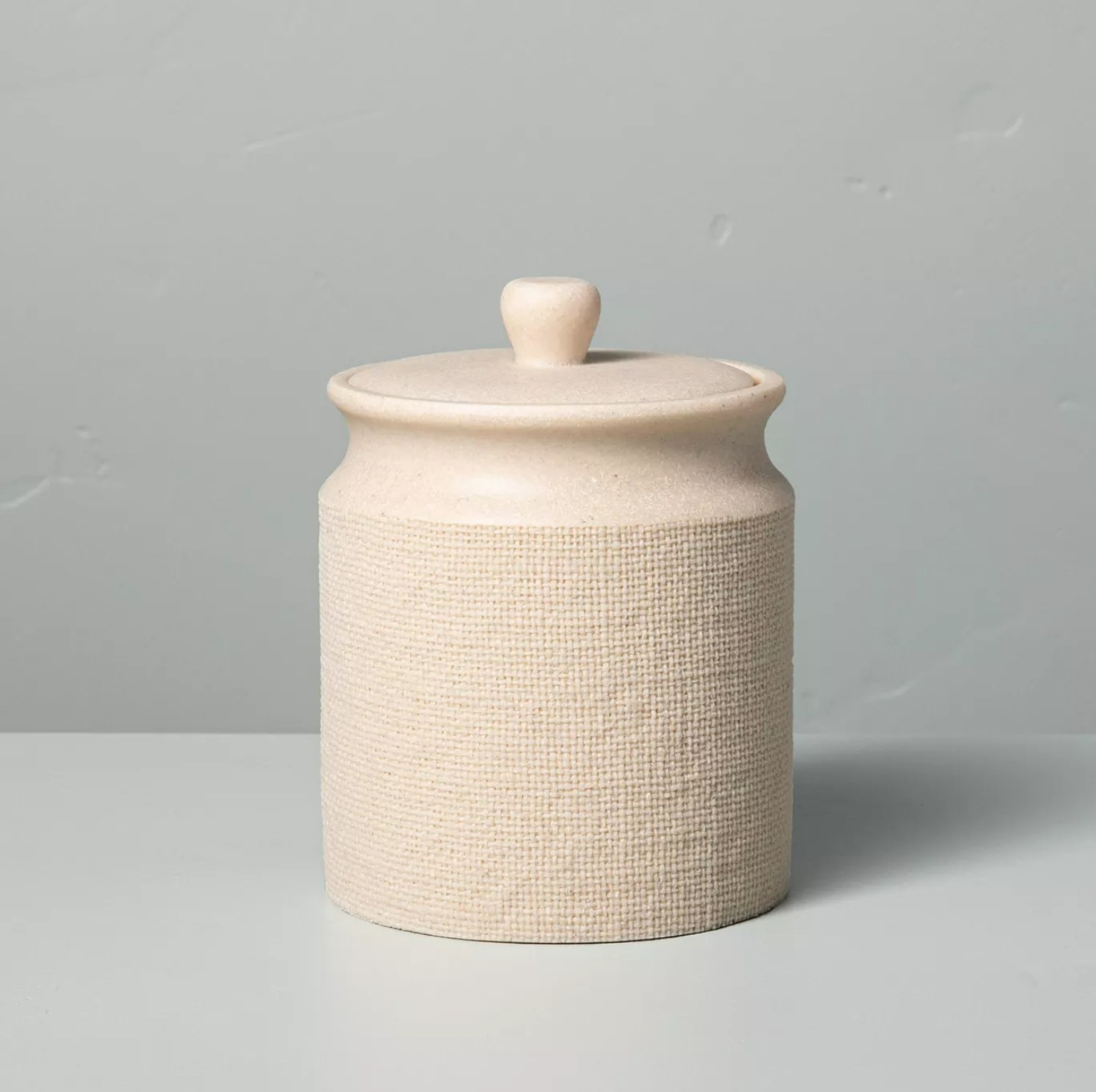 The cream canister