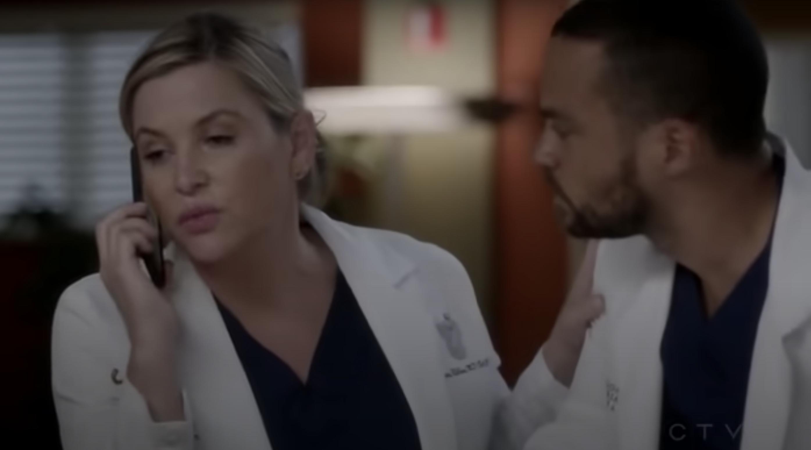 "Two nurses in ""Grey's Anatomy"""