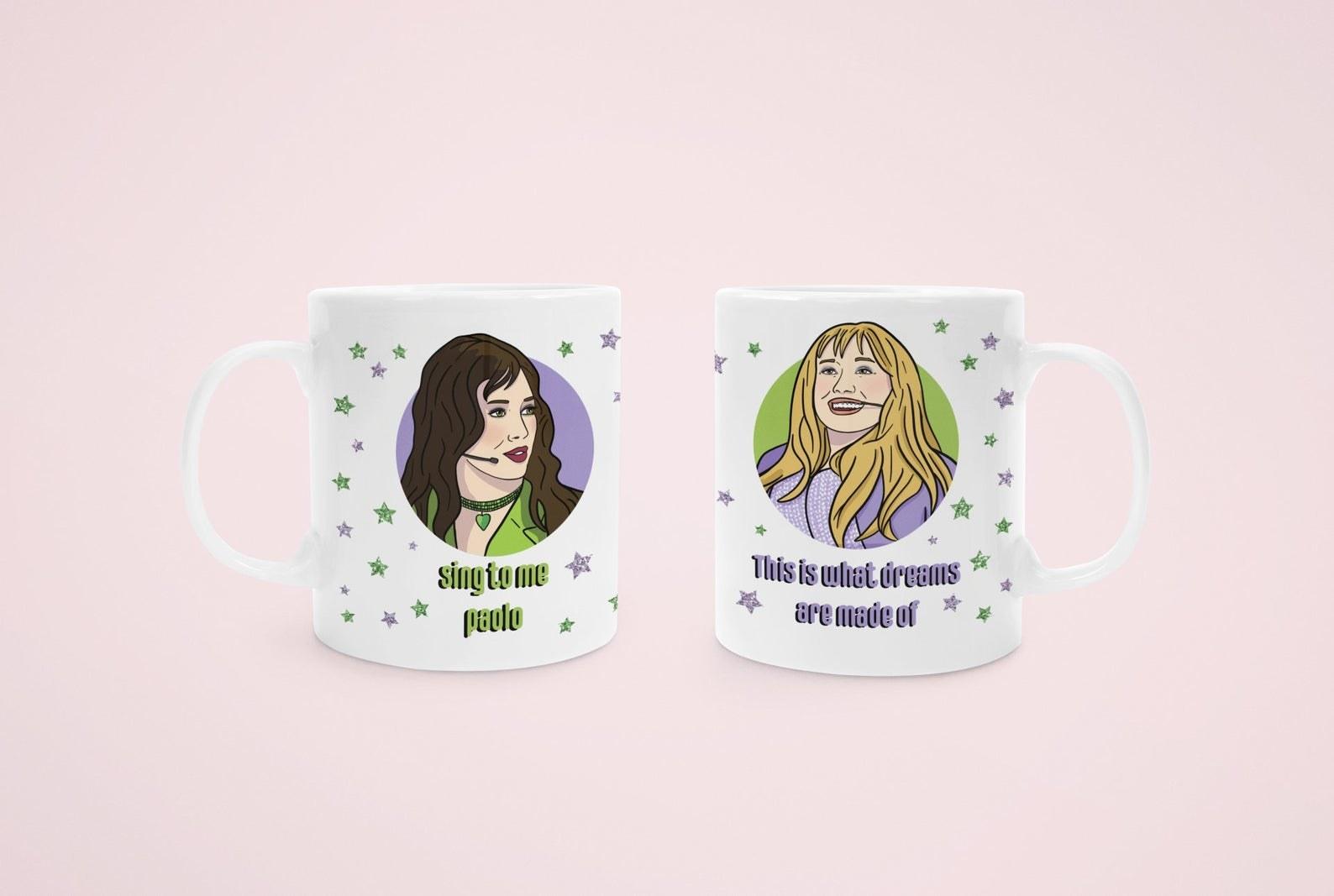 double sided mug