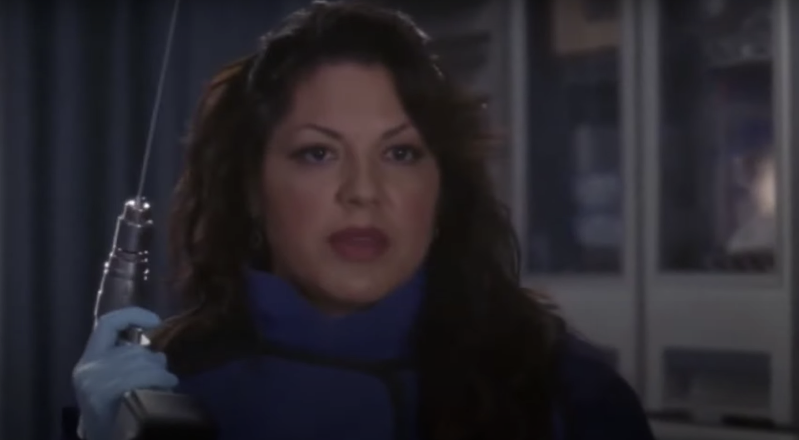 "Callie in ""Grey's Anatomy"""