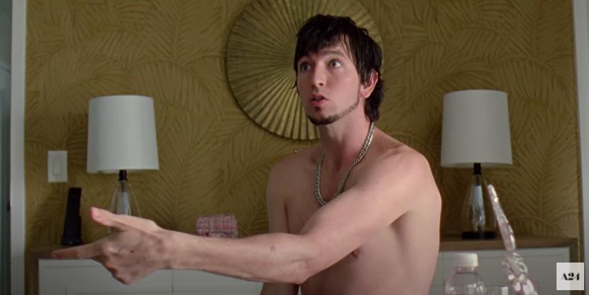 Derrek trippin' in the motel room