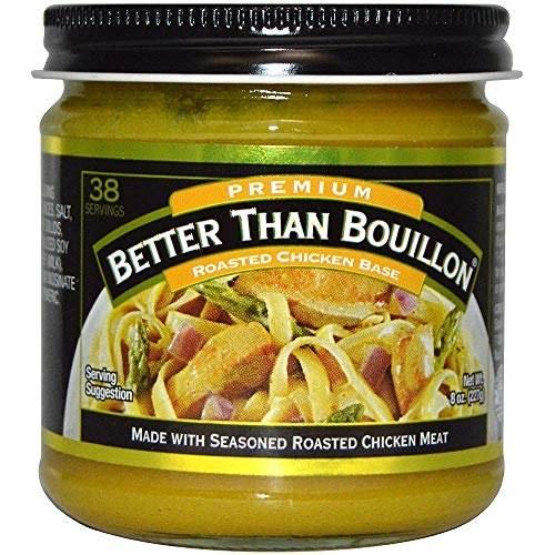 the jar of bouillon base