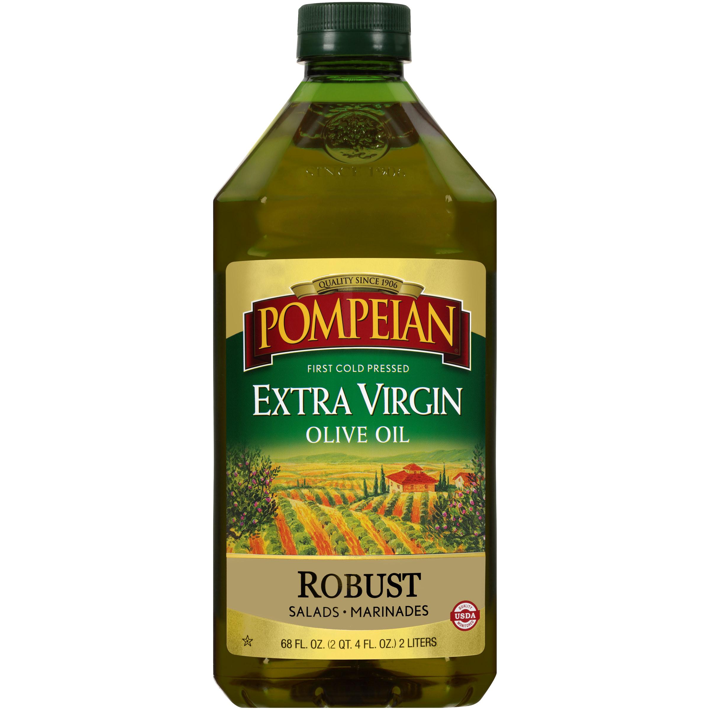 the green bottle of oil