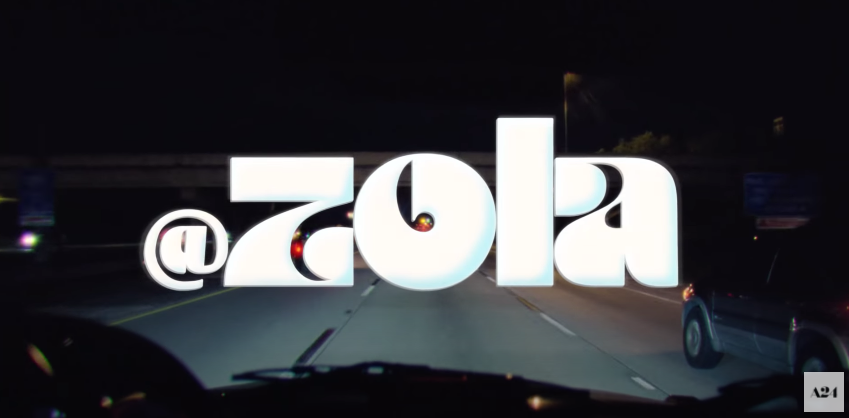 Title card for Zola