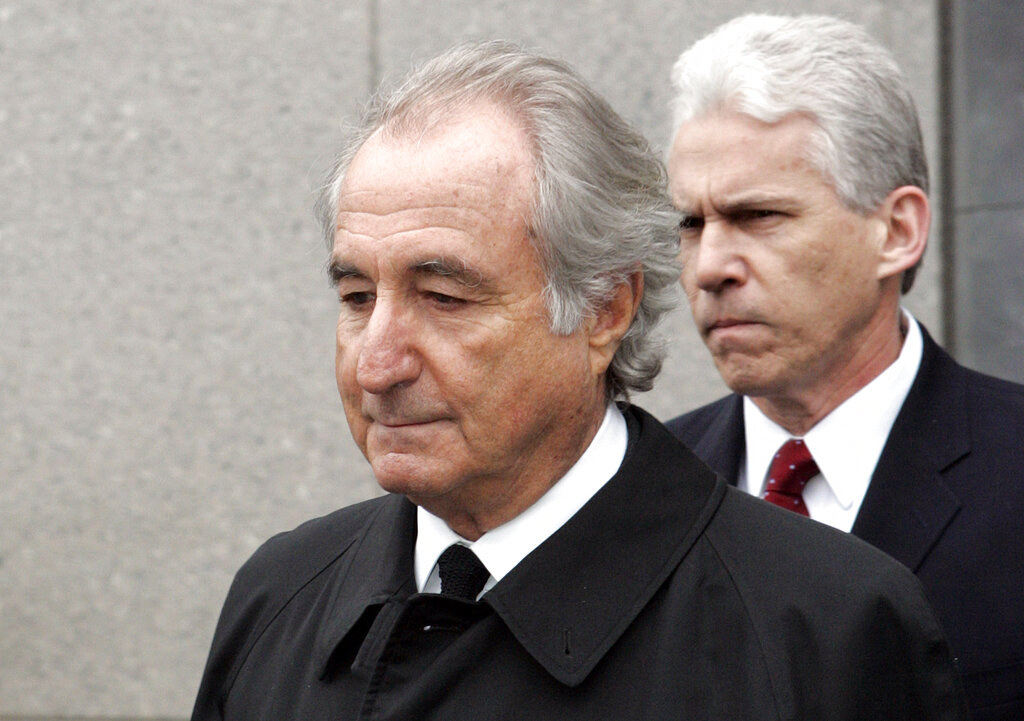 Bernie Madoff leaves court
