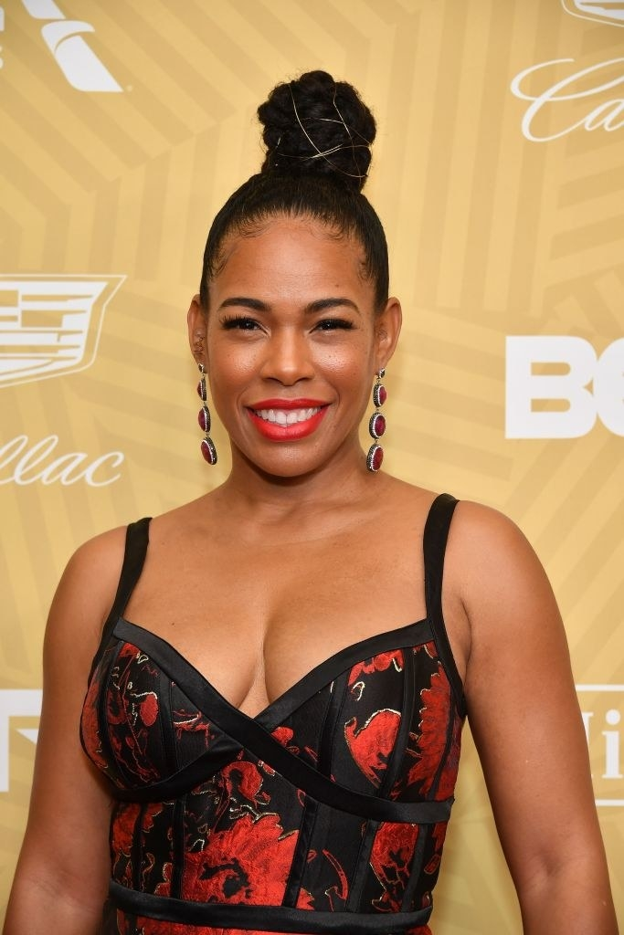 Angela Lewis attends the American Black Film Festival Honors Awards Ceremony