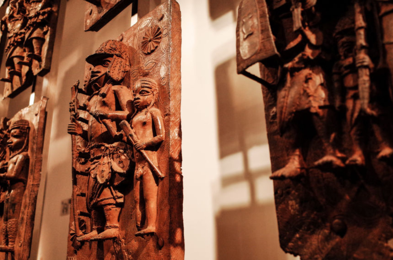 benin bronze statues in the british museum
