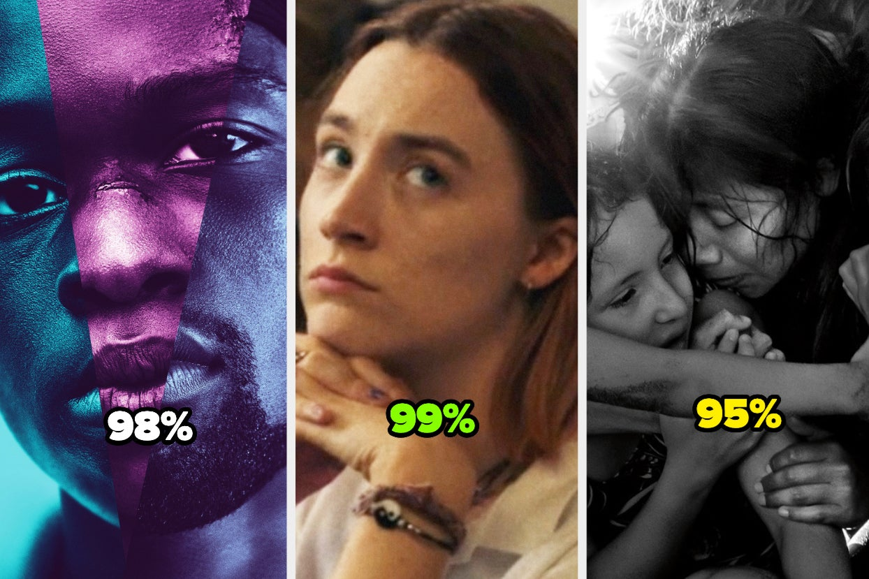 Here Are The 56 Best Movies Currently Streaming On Netflix, According To Rotten Tomatoes How Many Have You...