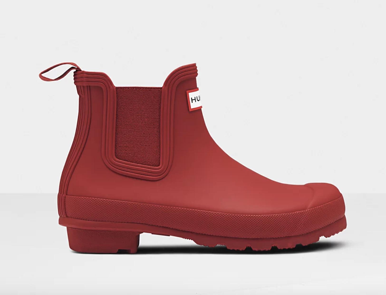 the red rain boots