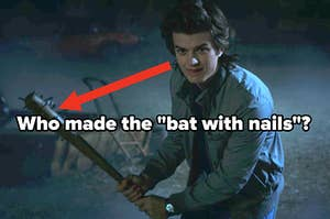 who made the bat with nails?