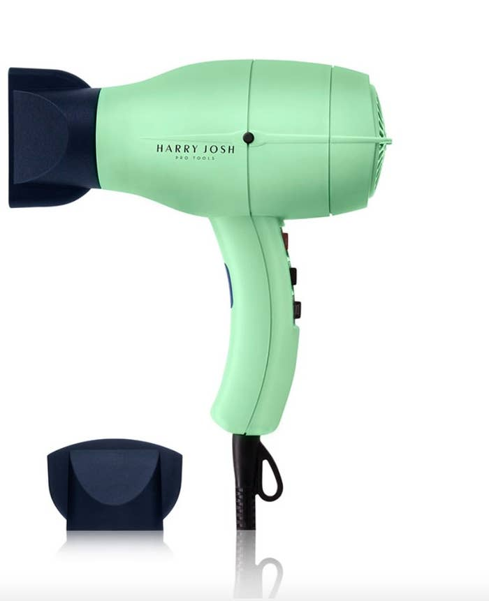 The three-piece hair dryer
